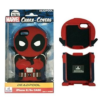 Deadpool Chara-Covers iPhone 6 and 6S Cell Phone Case