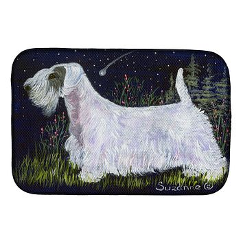 Sealyham Terrier Dish Drying Mat SS8145DDM
