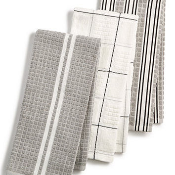 Martha Stewart Collection 3-Pc. Terry Cloth Kitchen Towels, Created for Macy's | macys.com