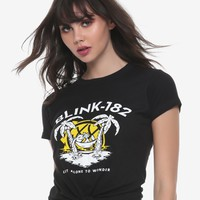Blink-182 Left Alone Island Girls T-Shirt