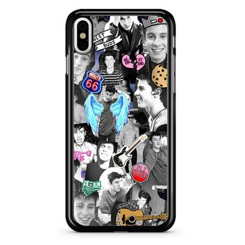 Shawn Mendes Collage 2 1 iPhone X Case
