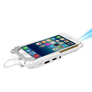 Pico Micro Pocket iPhone Portable Projector for iPhone - White