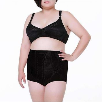 High Waist Girdle Breathable Sexy Panties for Plus Size Women