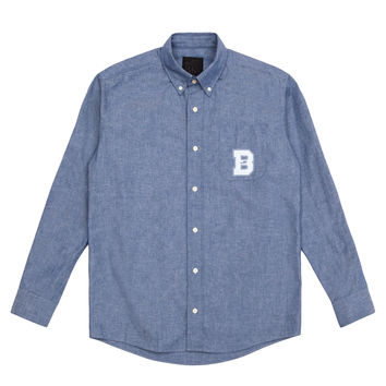 "BKc ""B"" Print Button Up"