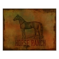 Horse Ranch Wood Textured