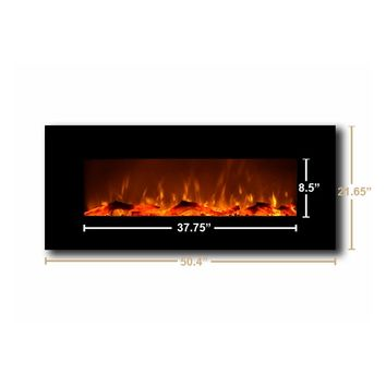 "Touchstone Onyx™ - 50"" Wall Mounted Electric Fireplace (#80001)"