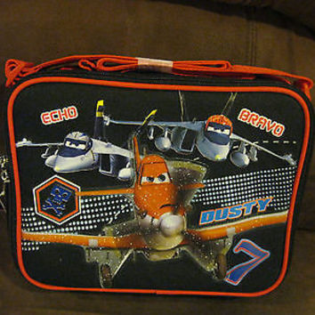 "DISNEY PLANES 9.5"" THE BIG BOSS FROM PROPWASH WITH ECHO,BRAVO,& DUSTY LUNCH BOX"