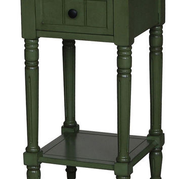 Michael Anthony Furniture Simplicity Entry Table (Green)