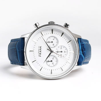 Montpellier White Chronograph Watch