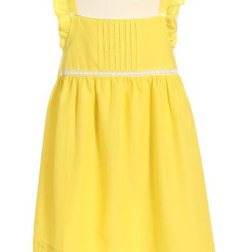 Mini Boden Lace Trim Dress (Toddler Girls, Little Girls & Big Girls) | Nordstrom