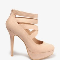 Strappy Platform Pumps