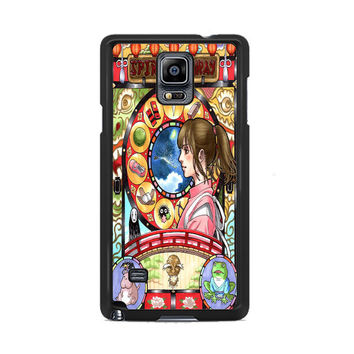 Spirited Away Nouveau Art Cover Samsung Galaxy Note 3|4  Cases