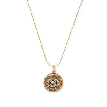 Evil Eye Expandable Necklace
