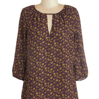 ModCloth Mid-length 3 Abounding Talent Top