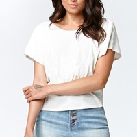Kendall & Kylie Exposed Button High-Rise Denim Shorts - Womens Shorts - Blue -