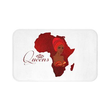 Red Velvet Soft Bath Mat Collection