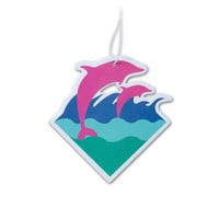 Waves Air Freshener – Pink+Dolphin