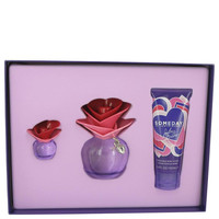 Gift Set -- 3.4 oz Eau De Parfum Spray + 3.4 oz Body Lotion + .25 oz Mini EDP