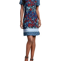 Plenty By Tracy Reese Printed Ponte Shift Dress
