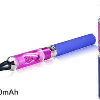 2.0 ml Mini Vivi Atomizer 900mAh Rechargeable Electronic Cigarette Kit (Purple)