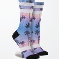 Stance Purple Night Crew Socks - Womens Scarves - Multi - One