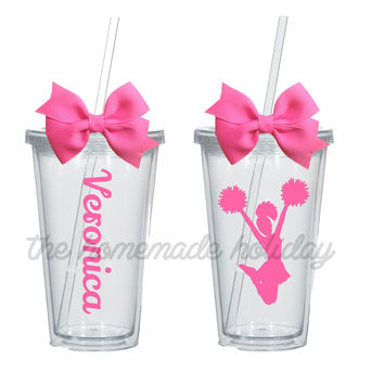 Cheerleading tumblers