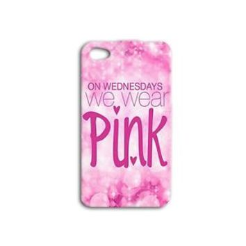 Cute Pink Girl Movie Quote Funny Phone Case iPhone 4 4s 5 5s 5c 6 6s Plus + Hot