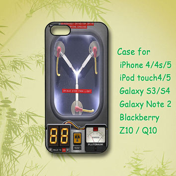 Flux Capacitor Back To The Future, iPhone 5 Case, iPhone 4 Case, ipod case,Samsung Galaxy S4, Samsung S3, Samsung note 2, blackberry z10,Q10