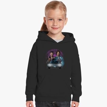 Supernatural Family Dont End With Blood 2 Kids Hoodie