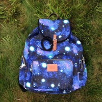 Victoria's Secret Pink, galaxy print backpack