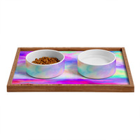 Jacqueline Maldonado The Calm And The Storm Pet Bowl and Tray