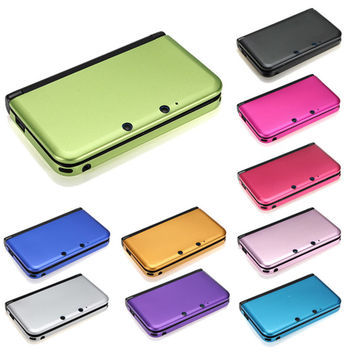 Hot Sale Muliti Color Aluminum Hard Metal Box Protective Skin Cover Case Shell For Nintendo For 3DS XL LL High Quality