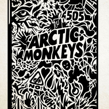 Arctic Monkeys Art 1 iPad 2 3 4, iPad Mini 1 2 3, iPad Air 1 2 , Galaxy Tab 1 2 3, Galaxy Note 8.0 Cases
