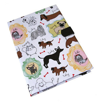 iPad Case Air 2 3 4 Mini Dogs Puppies iPad Cover, iPad Sleeve, i Pad stand up Leather closure