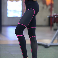 Sexy stitching Yoga Pants Workout Running Leggings