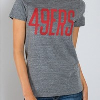Junk Food Clothing - NFL San Francisco 49ers Tee - NFL - Collections - Womens