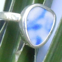 Broken China Chaney Sterling Silver Blue  Any Size
