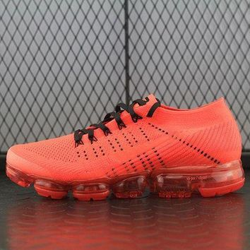 LMF8KY Nike Air Max Clot x Vapor Max For Women Men Running Sport Casual Shoes Sneakers Orange