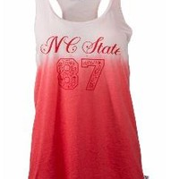 Official NCAA North Carolina State University Wolfpack NC State NCSU Women's Racerback Tank Top