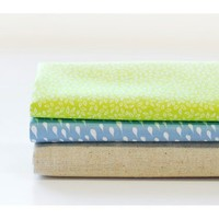 Dailylike quarter pack of 3 cotton fabric - sometimes