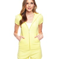 J Bling Short Sleeve Terry Jacket by Juicy Couture,