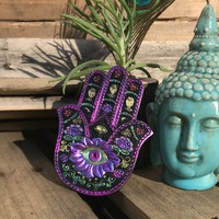 Hamsa Gypsy Incense Holder