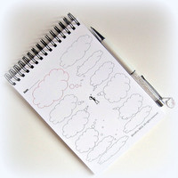 To do's list notepad. Spiral binding. Size 5x7. Fun and very productive.