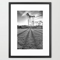 A Long Day Framed Art Print by RichCaspian