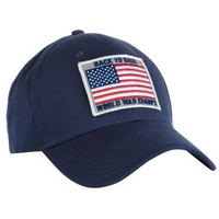 Back To Back World War Champs All Twill Snapback Hat in Navy by Rowdy Gentleman