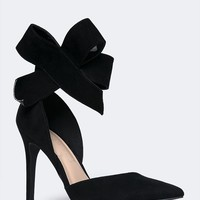 High Heel Bow Pumps