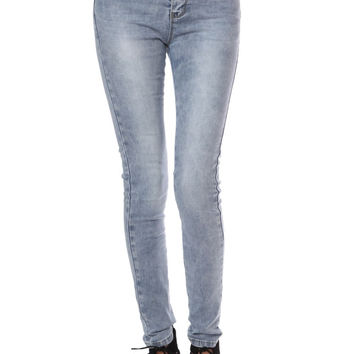 Highwaisted super skinny jeans