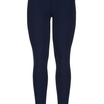 Navy Ankle Length Legging - Navy