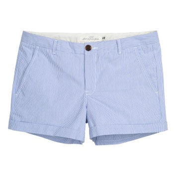 Short Cotton Shorts - from H&M