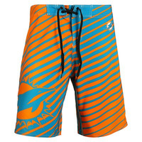 Miami Dolphins Official NFL Stripes Boardshorts